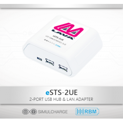 eSTS-2UE - Samsung Tablet 2 x USB Ethernet Adapter