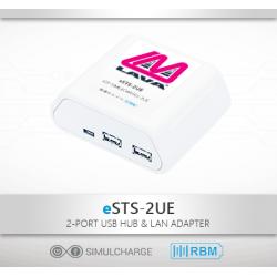 eSTS-2UE - Samsung Tablet 2 x USB Ethernet Adapter
