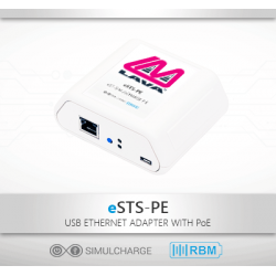eSTS-PE - Samsung Tablet PoE Ethernet Adapter