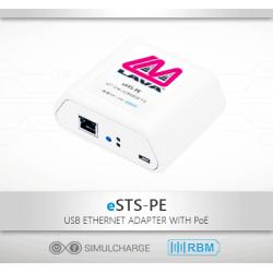 eSTS-PE - Samsung Tablet PoE Ethernet Adapter