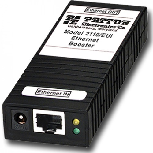 2110/P POE Powered CopperLink Ethernet Booster