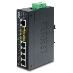IGS-5225-4T2S - Industrial L2+ 4-Port 10/100/1000T + 2-Port 100/1000X SFP Managed Switch