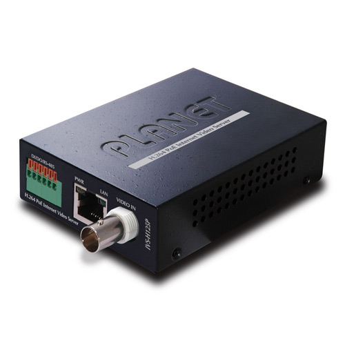 IVS-H125P - H.264 PoE Internet Video Server