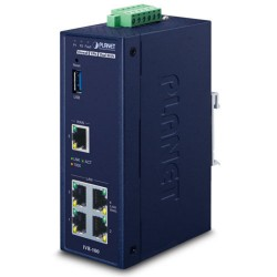 IVR-100 Industrial 5-Port 10/100/1000T VPN Security Gateway