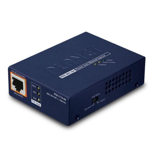 POE-171A-60 1-Port Multi-Gigabit 802.3bt PoE++ Injector (60 Watts)